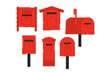 Vector Postbox - vector #375749 gratis