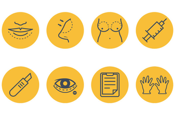 Plastic Surgery Icon - Free vector #376489
