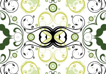 Floral pattern background - vector #377759 gratis