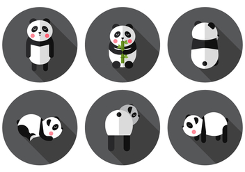 Vector Panda - Free vector #377829