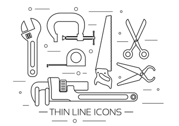 Free Vector Tool Icons - vector #377889 gratis