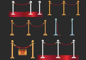 Velvet Rope Vector - Free vector #378089