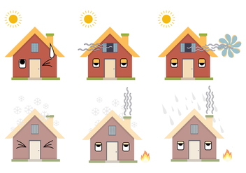 HVAC Icon Vector set - Free vector #378299
