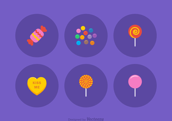 Free Candy Vector Icons - Free vector #378469