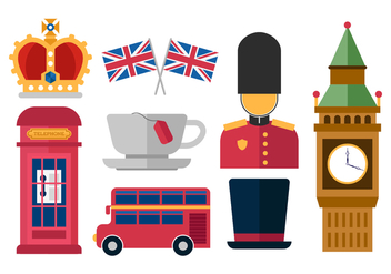 Free Great Britain Kingdom Vector Icons - vector gratuit #378679