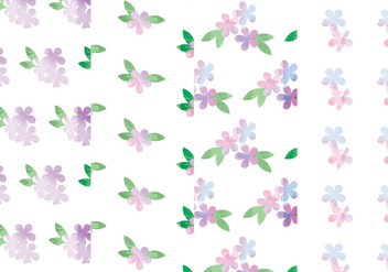 Vector Floral Patterns - Free vector #378719