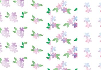 Vector Floral Patterns - Kostenloses vector #378719