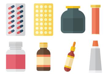 Free Medicine Vector Icons - Kostenloses vector #379439