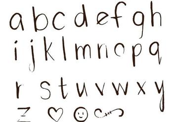 Letras Letters Alphabet Set D - Free vector #379789