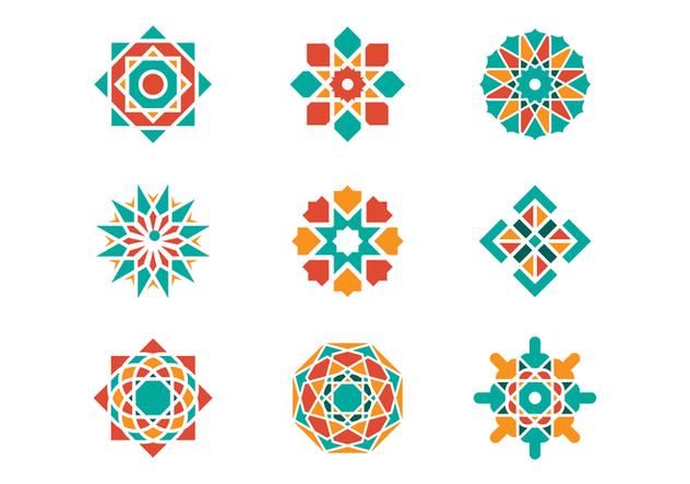 Free Arabesque Graphic Vectors - Kostenloses vector #380189
