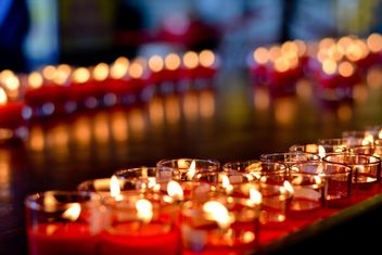 A lot of candlelights - image gratuit #380499