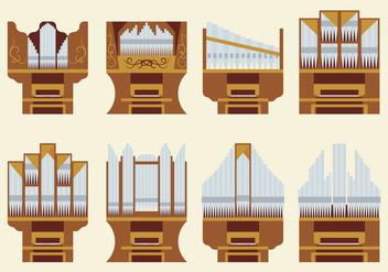 Free Pipe Organ Vector - Free vector #380529