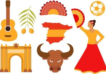 Free Spain Icons Vector - Free vector #380699
