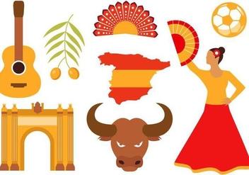 Free Spain Icons Vector - Kostenloses vector #380699