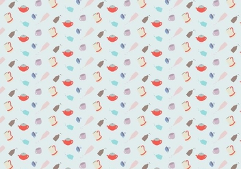Pottery Pattern Background - Free vector #380939
