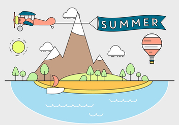 Free Summer Illustration - Kostenloses vector #382509