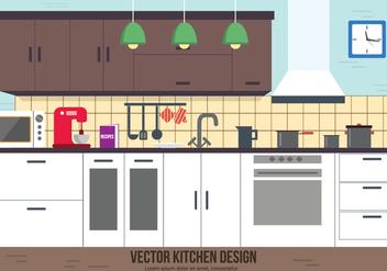 Free Kitchen Vector Design - Kostenloses vector #382569