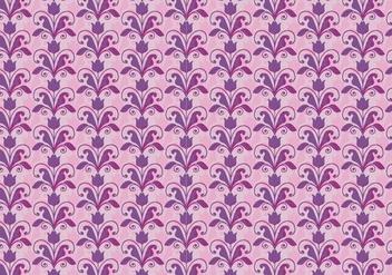 Pink Vector Western Flourish Pattern - vector gratuit #382789