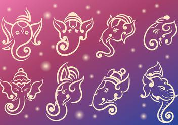 Free Ganesh Icons Vector - vector #382889 gratis