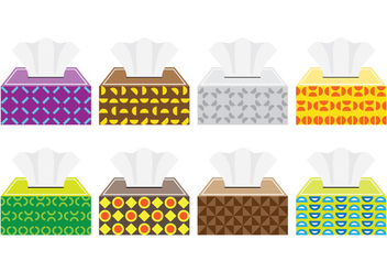Tissue Box - Free vector #383639