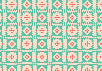Native Traditional Pattern - Kostenloses vector #384459