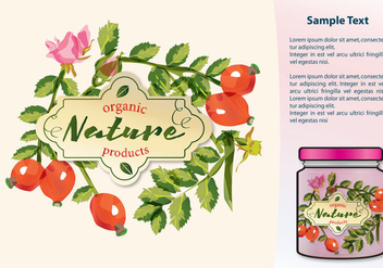 Organic Products - vector gratuit #384549