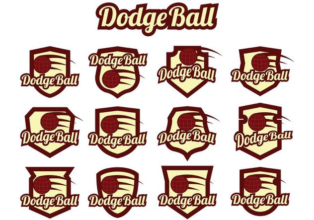 Dodgeball Vector - vector #384589 gratis
