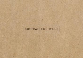 Free Vector Cardboard Texture - Kostenloses vector #384599