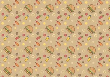 Free Burger Vector - бесплатный vector #384639