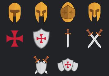 Templar Icon - Free vector #384699