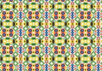 Geometric Motif Pattern - Free vector #384719
