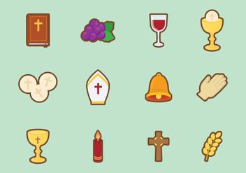 Free Cute Eucharist Vector - Kostenloses vector #384789
