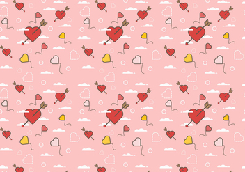 Free Love Background Vector 1 - Free vector #385039