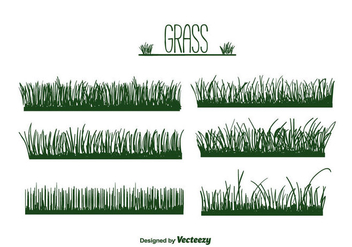 Grass Vector - Kostenloses vector #386189