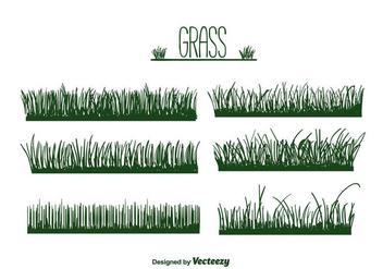 Grass Vector - vector #386189 gratis