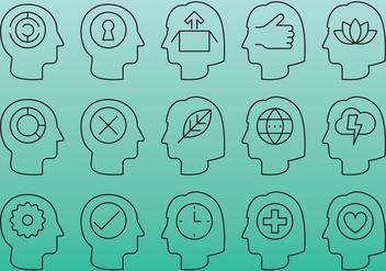 People Head Icons - Kostenloses vector #386849