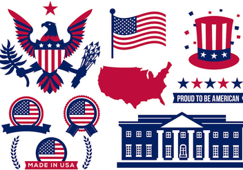 Free America Icons Vector - Free vector #386889