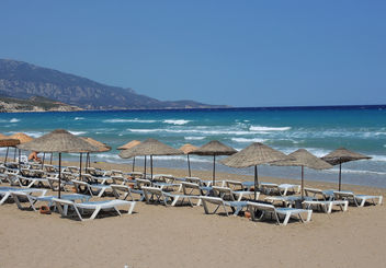 Turkey (Izmir-Mordogan) Late summer beach view - Free image #386959