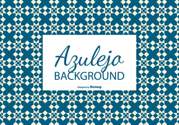 Diamond Azulejo Tile Background - Free vector #387599