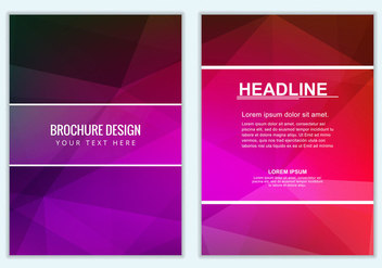 Free vector Colorful Business Brochure - Kostenloses vector #387709