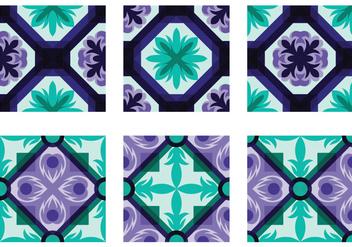 Talavera Portuguesse Tile Vector - Free vector #387909