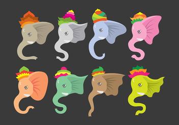 Ganesh icons - vector #387999 gratis