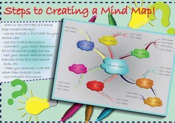 Free Mind Map Illustration - Free vector #388299