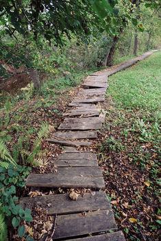 Broken pathway - image #388659 gratis