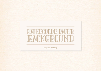 Watercolor Paper Texture - Free vector #388959