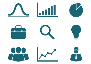 Marketing Icons - vector #389149 gratis