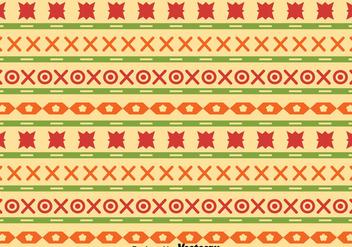 Ethnic Songket Pattern Vector - Free vector #389509