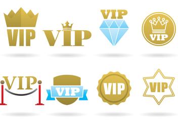 VIP Logos - Free vector #389889