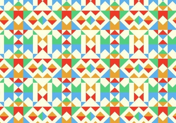 Geometric Pattern Background - vector #390269 gratis