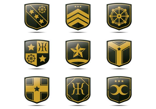 Heraldry Blason - Free vector #390389